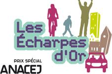Au côté de l'association Prévention Routière, l'Anacej est très heureuse, cette année encore, de vous inviter à participer au prix spécial «Conseils d'enfants et de jeunes» des Echarpes d'Or.