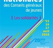 A l'occasion des 20 ans du CDJ, le Département du Nord accueillera les secondes rencontres nationales des Conseils Généraux de Jeunes les 15, 16 et 17 Avril 2010 à Lille en partenariat avec l'Association Nationale des Conseils d'Enfants et de Jeunes.