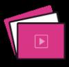les-vidéo4 rose