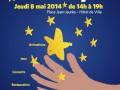 Visuel Fête de l'europe - Montreuil