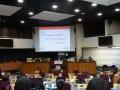 Les représentants des commissions, ce que l'on appelle des rapporteurs, présentent des rapports à tous les membres du CRJ © Mamédi Diarra.