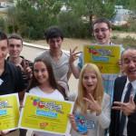 La Délégation du Conseil des Jeunes Toulousains et Djillali Lahiani Adjoint au Maire de Toulouse © Anacej