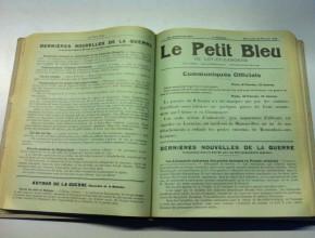 """Le Petit Bleu, un des objets récoltés par """"les Enquêteurs de la Mémoire"""""""