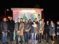 Le Conseil des Jeunes d'Ingré devant le transformateur ERDF qu'il ont customisés ! ©Mairie d'Ingré