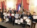 Les enfants du CMJ de Buc, lauréats du Prix Démocratie Jeunesse des Trophées Éco Actions ©Mairie de Buc