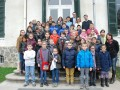 Les enfants du mandat 2014-2016 avec leurs accompagnateurs ©Mairie de Vienne