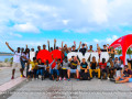 Les conseillers jeunes de Bry-sur-Marne avec les Conseillers Territoriaux de la Jeunesse de Saint-Martin ©CTJSaintMartin