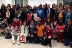 Les participants du dernier évènement organisé par le Collectif AEDE en novembre 2017 chez le Défenseur de Droits ©Anacej