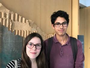 Maëlle et Noah, 15 et 17 ans, du CJC d'Issy-les-moulineaux